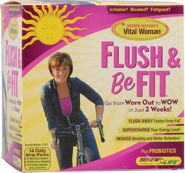 Flush and be fit