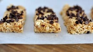 Val's Peanut Butter Granola Bars