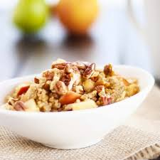 apple nut quinoa bowl