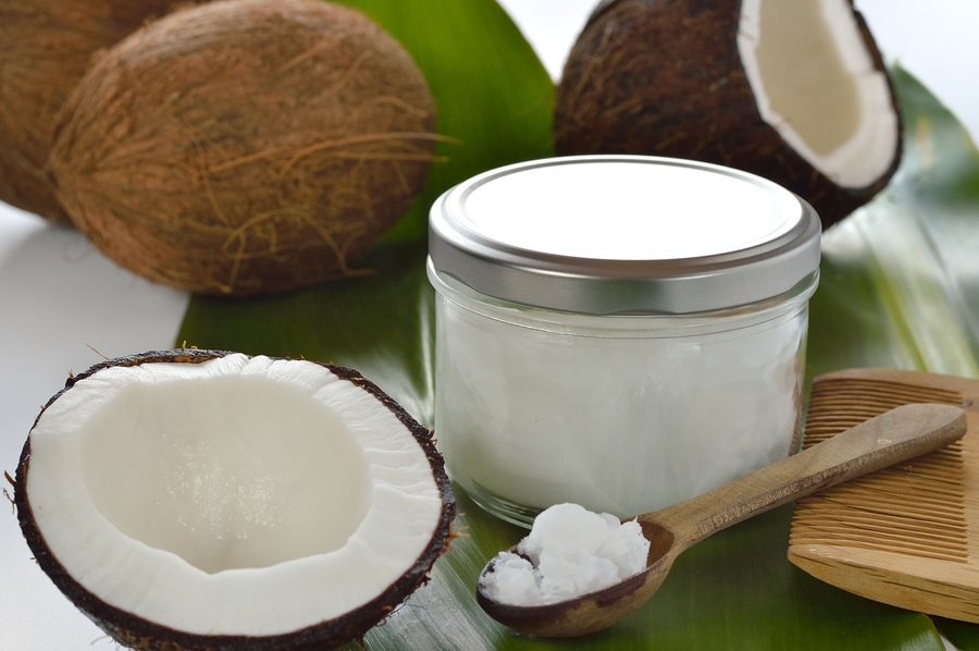 coconuts and coconut oil