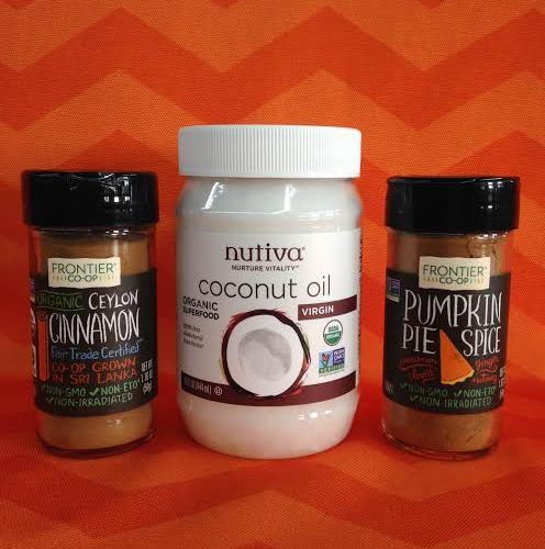 coconut oil and spices