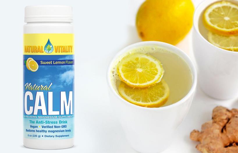 natural calm and lemons