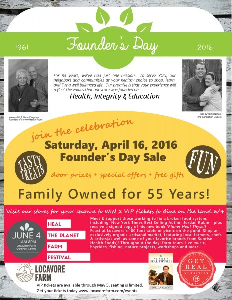 FOUNDER'S DAY POST
