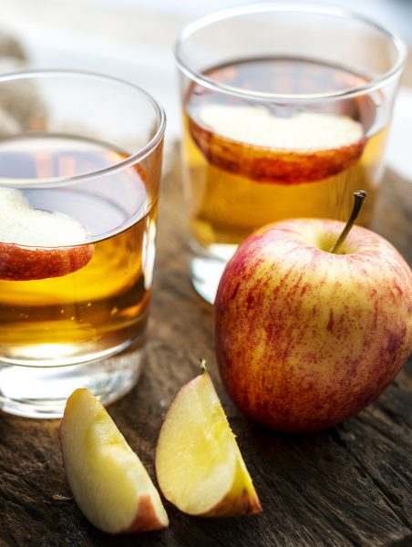 cups of apple cider vinegar