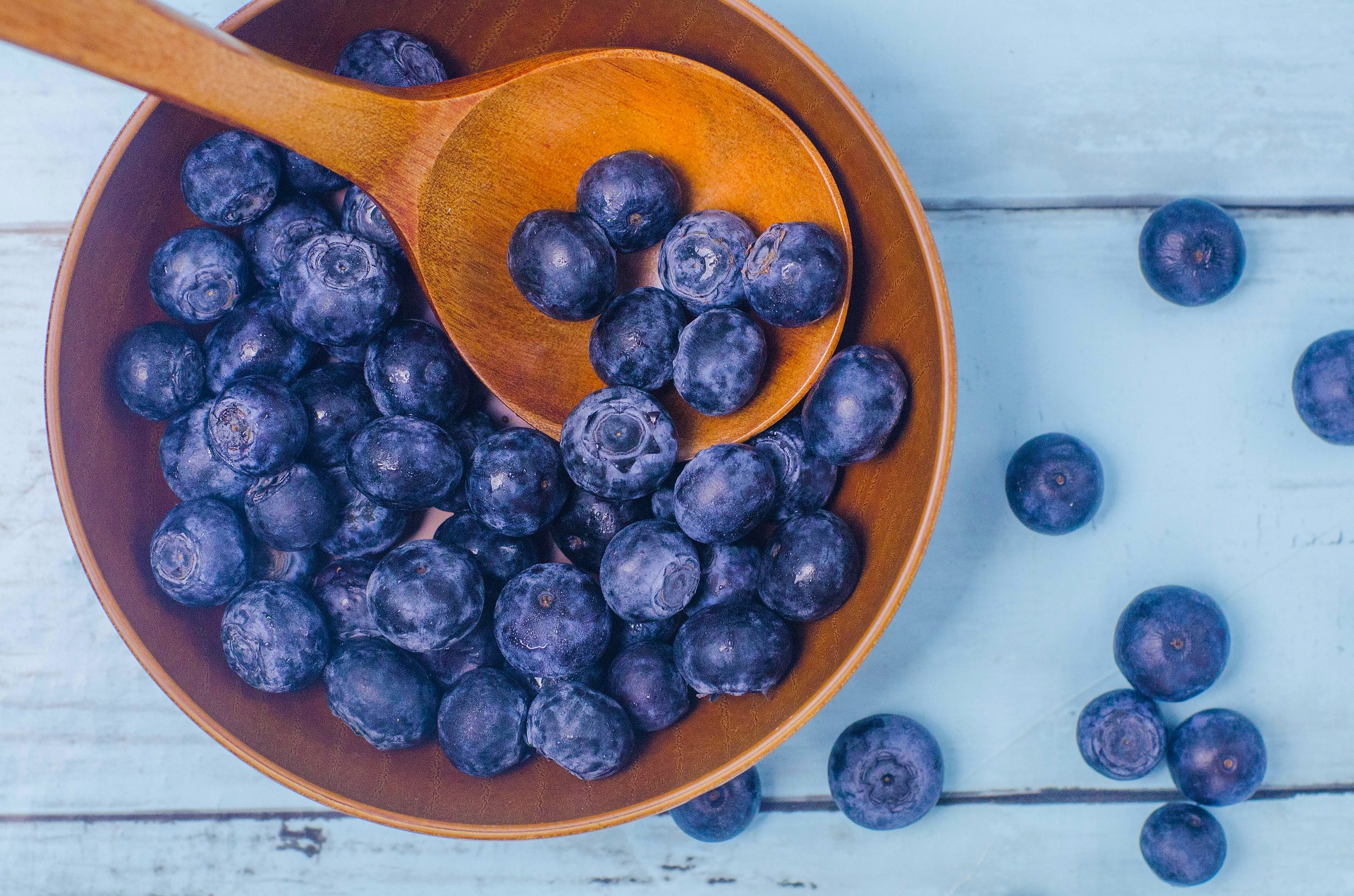 bowl of blueberries