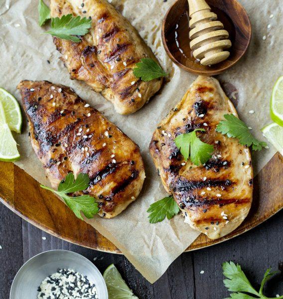Honey Sesame Chicken Breasts