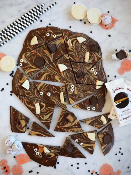 chocolate peanut butter bark