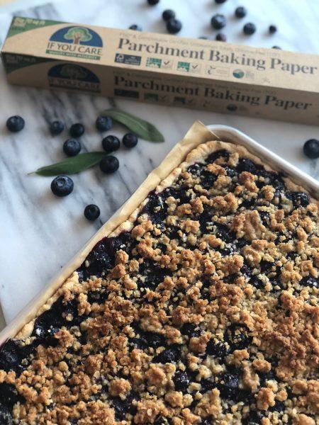 Blueberry & Sage Sheet Pie | Sunrise Health Foods
